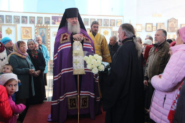 Архипастырский визит владыки Стефана в Свято-Покровский храм