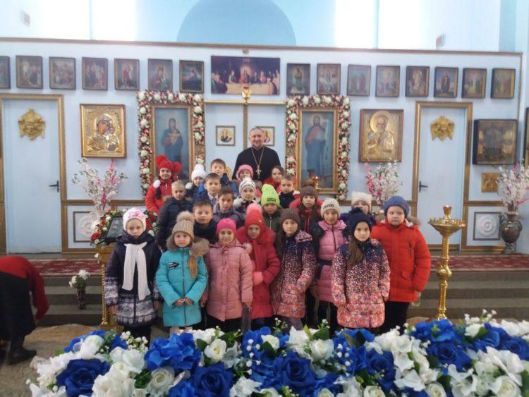 Посещение храма школьниками – добрая традиция