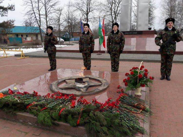 75-лет со дня освобождения Белоглинского района от немецко-фашистских захватчиков